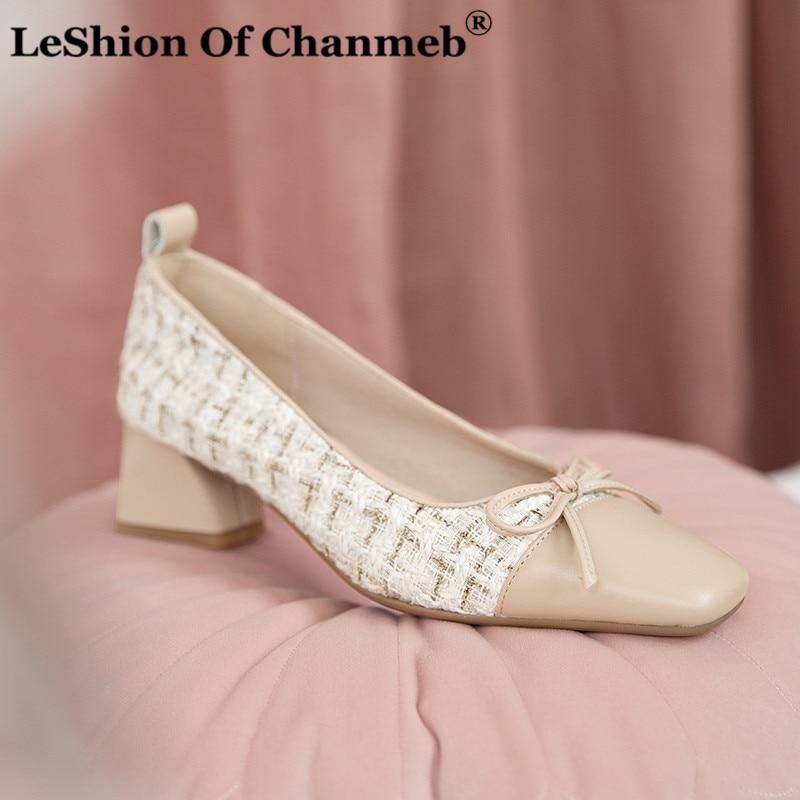 Bombas de lujo para fiesta de boda zapatos de marca de diseñador para mujer zapatos de pasarela de tacón con lazo para mujer de tamaño pequeño 33