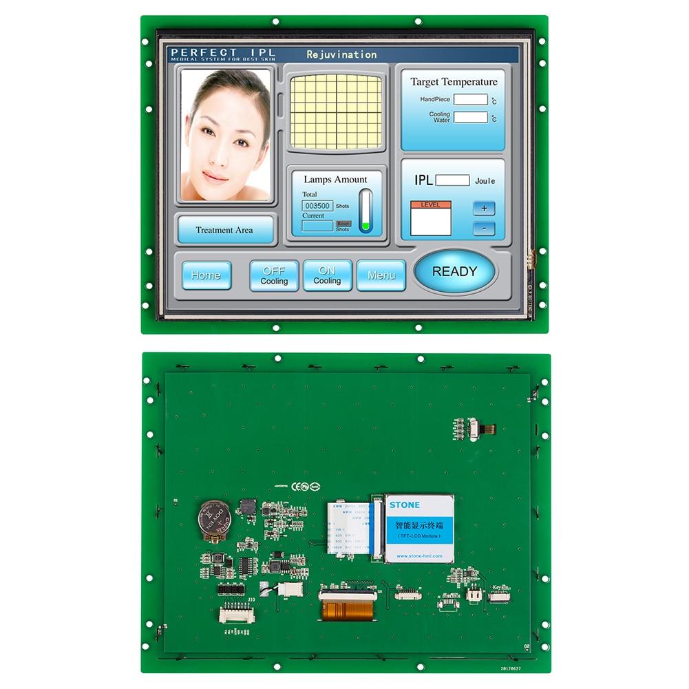 """Controlador táctil programable 10,1 """"panel de pantalla LCD funciona con cualquier microcontrolador 100 Uds."""
