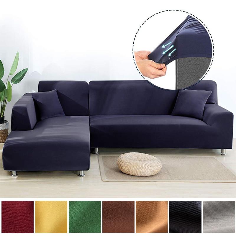 Super doux élastique coin canapé couverture pour salon moderne canapé housse housse Chaise Longue couverture L en forme de canapé couverture Stretch