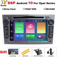 4G + 64G DSP PX5 Android 10 2 DIN voiture GPS pour opel Vauxhall Astra H G J Vectra Antara Zafira Corsa Vivaro Meriva Veda lecteur DVD