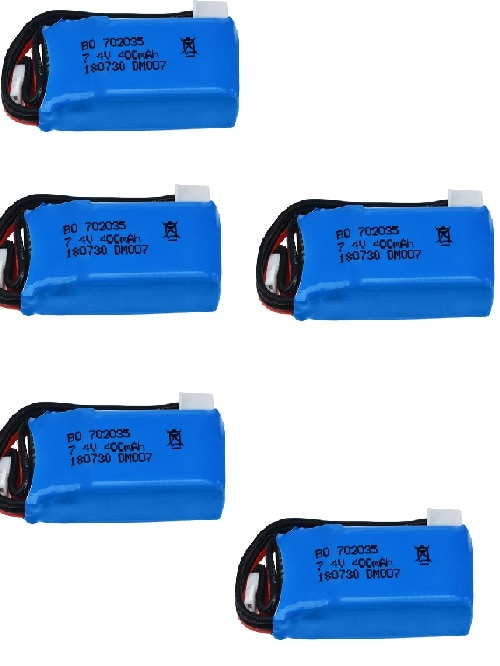 DM007 hot sale RC four axis aerial vehicle 2S 7.4v 400 MAH upgrade lithium battery 702035