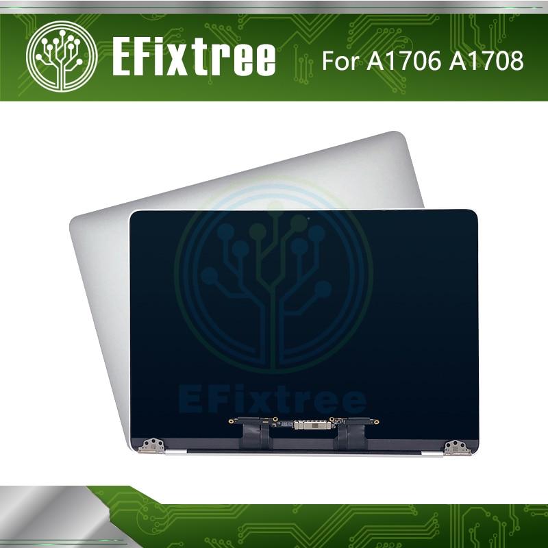 Полная Новинка Серебряный A1706 экран в сборе для Macbook Pro Retina 13,3