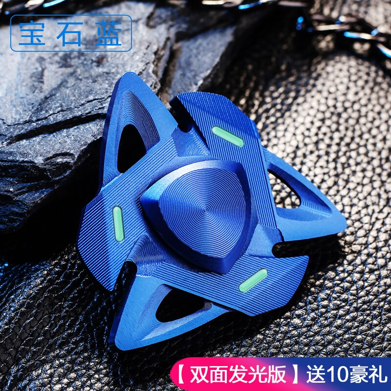 2020 Long Time Hand Spinner EDC Fidget Hand Spinners Autism ADHD Finger Toy Hobbies for Adults Spinners Focus Relieve Stress E enlarge