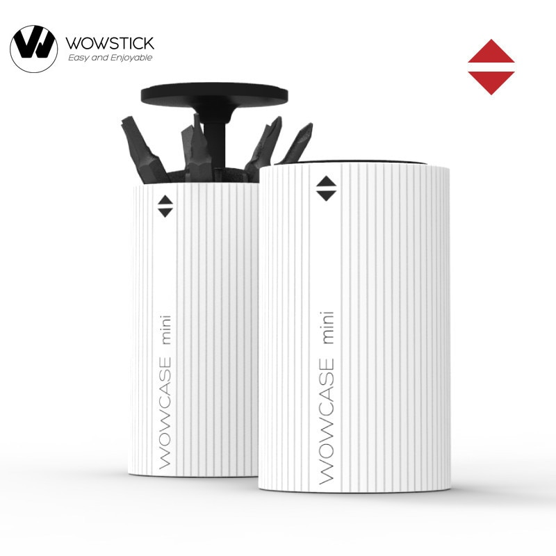 Wowstick Wowcase destornillador eléctrico caja de taladro destornillador cabeza caja de almacenamiento para 1F + ,1p + kits de tornillos eléctricos