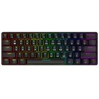 smart duck xs61 60 mechanical keyboard rgb led switching software c double click keyboard macro program blue red brown black