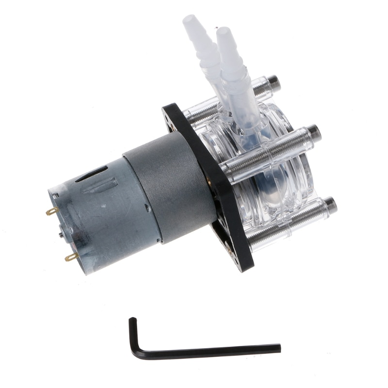 Bomba peristáltica cc 12/24V bomba dosificadora de gran flujo bomba de vacío laboratorio de acuario analítico 19QB