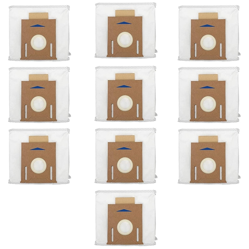 10 sacos de filtro vacuo substituicao pacote para ecovacs deebot ozmo t8 aivi t8