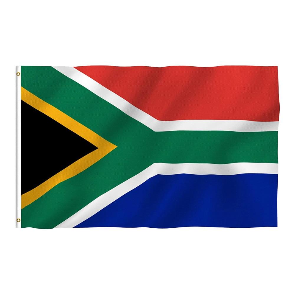 Флаг Южной Африки Flagnshow 3x5 футов, флаги южноафриканского национального баннера для украшения дома