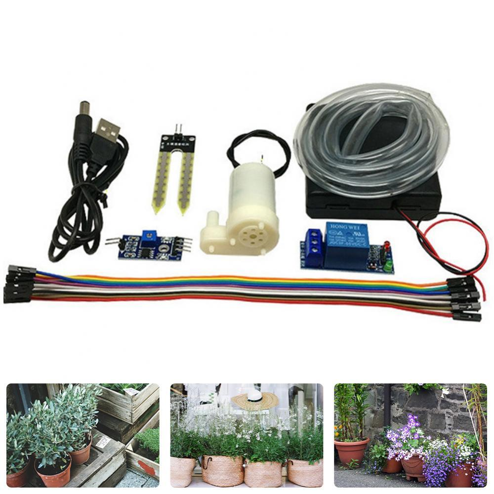 Automatic watering water pump Automatic irrigation module DIY set Soil moisture detection automatic watering Pumping