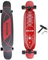 longboard skateboard complete cruiserthe original maple 46 inch skateboard cruiser for cruising carvingumbrella
