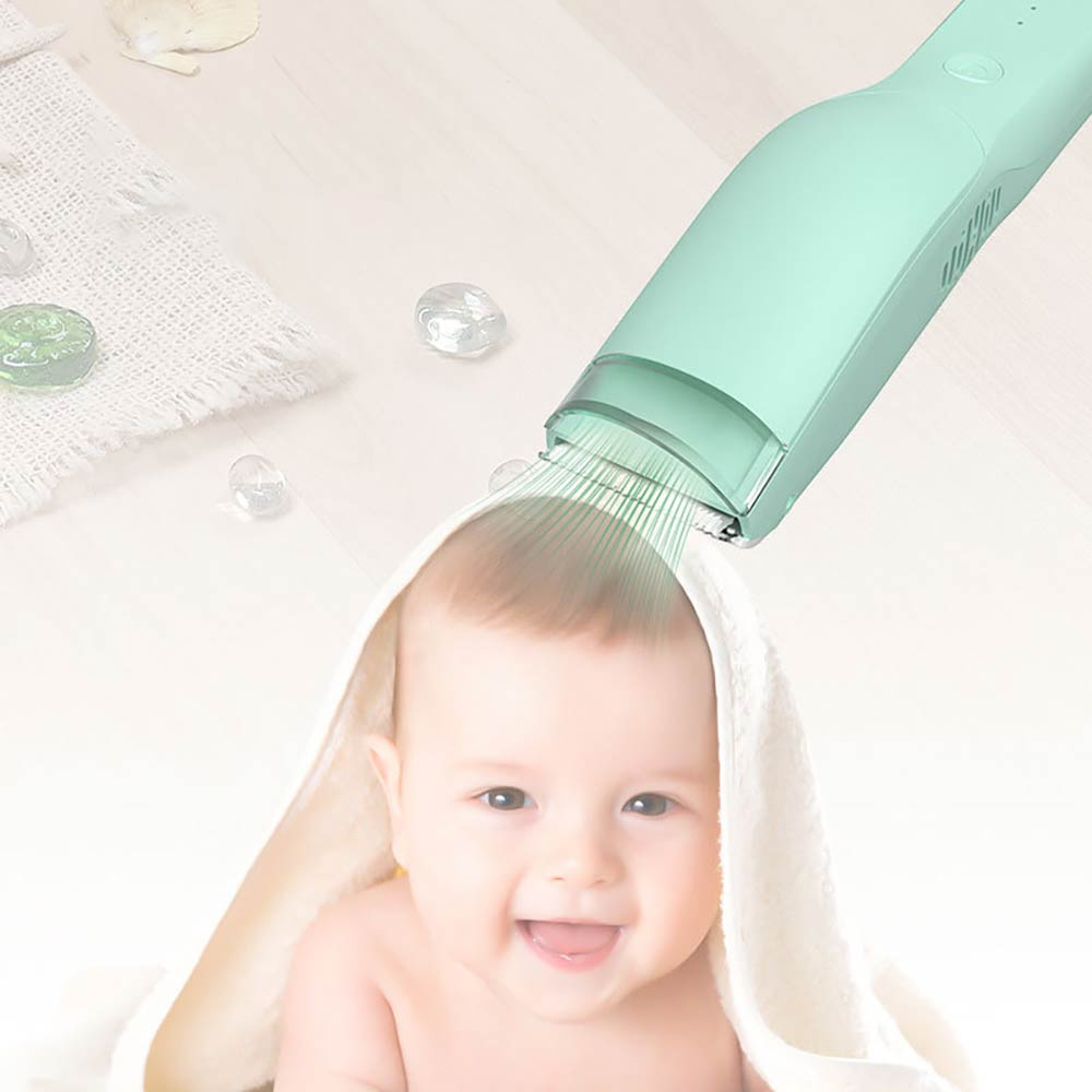 Child Hair Clippers Electric Quiet Trimmer Kids Baby Waterproof Hair Clipper Child Silent Cutting Machine Suction Hair Shaver