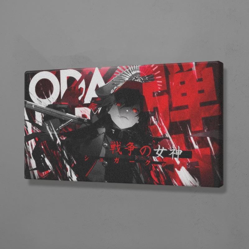 Oda nobunaga destino grande pedido pintura da parede arte cartaz lona para sala de estar quarto estudo em casa dormitório arte decoração impressões