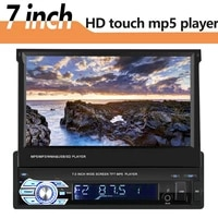 1din7 inch gps bluetooth rearview camera car radio video player mp5 stereo car multimedia player