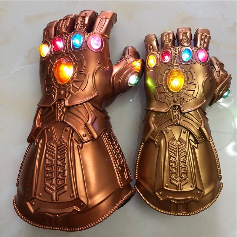 The  4 Endgame  Led  Gauntlet  Stones War Led Glove Kids& Halloween Gift Cosplay