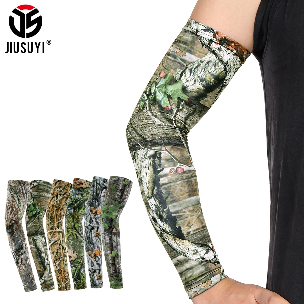 2pcs cycling arm sleeve for running fishing bicycle sports arm sleeves warmer outdoor Breathable UV Protection Running Arm Sleeves Fitness Volleyball Basketball Fishing Outdoor Bicycle Cycling Sports Arm Warmers