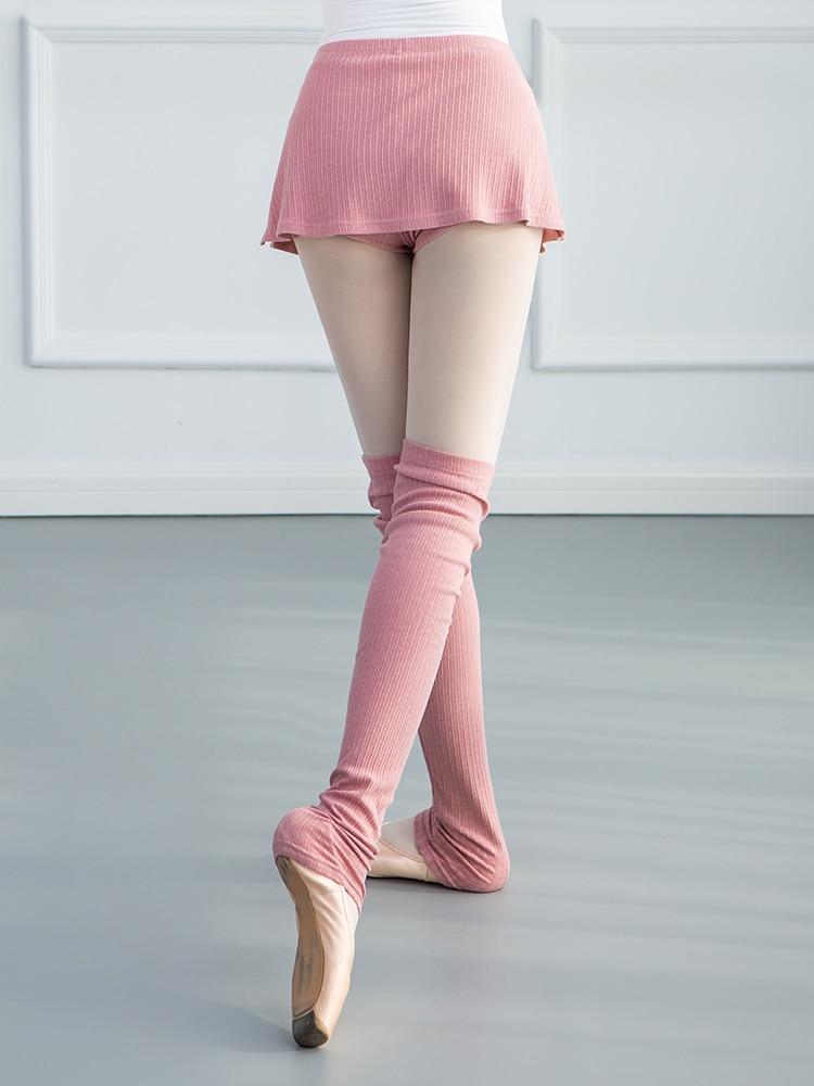 Autumn and Winter Knitting Dance Leg Protection Dance Socks Adult Warm 60cm Long Knee Ballet Training Comfort Sport Legwarmers