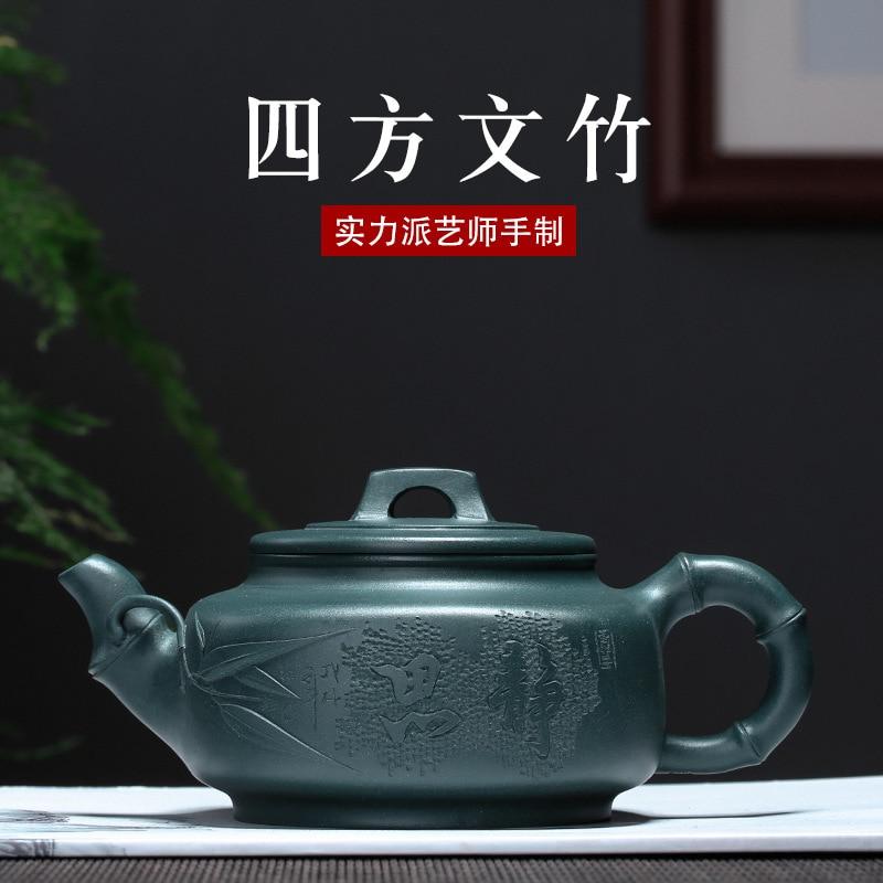 ييشينغ أوصى المنتج بالجملة كلوريت خام المطر متوسطة الرمال إبريق الشاي سيفانغ الهليون كل وعاء اليد للتسليم