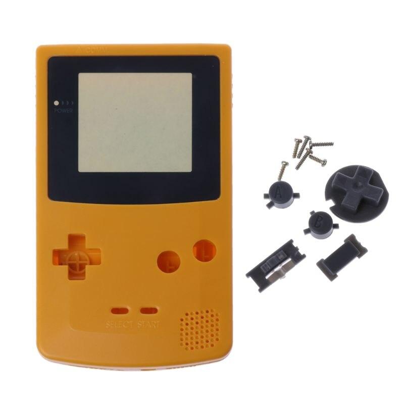 Nueva carcasa completa para Nintendo Game para chico de Color GBC, pieza de reparación, paquete de carcasa