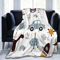 cartoon animal blanket blanket plaid jigsaw sublimation cartoon bedding flannel childrens and adult bedroom decor