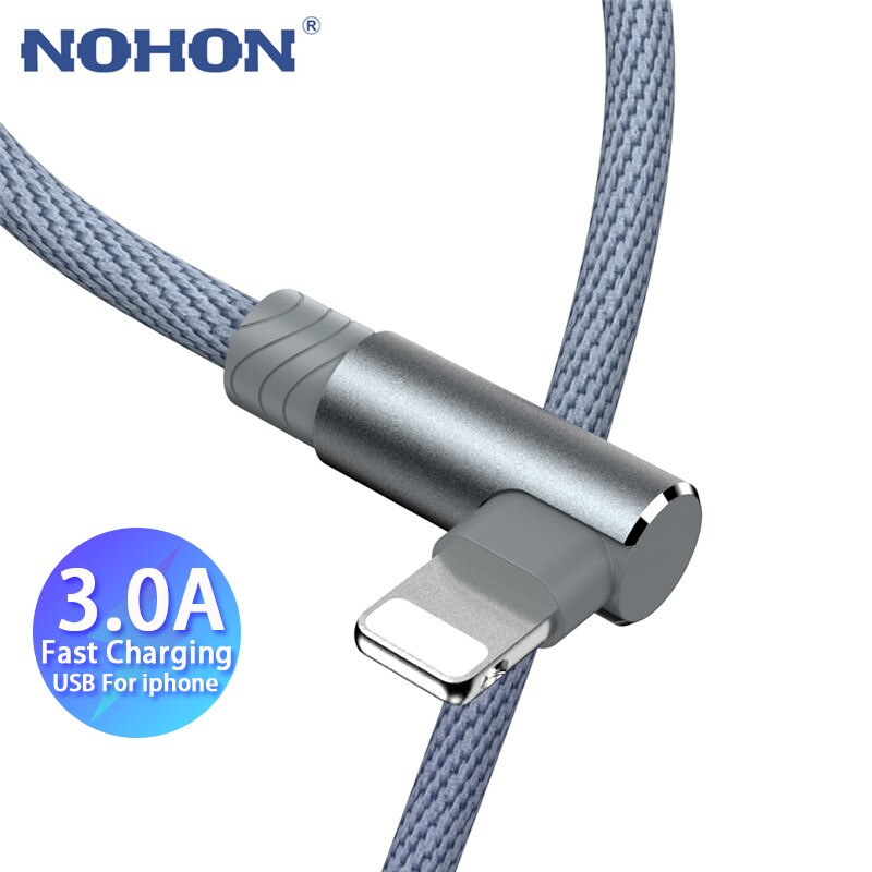 90 USB de carga rápida Cable cargador para iPhone 6 6s 7...