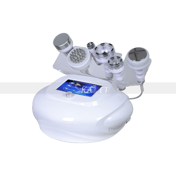 الجسم الكنتوري والتخسيس 6in1 80K التجويف ثنائي القطب الوجه رفع RF آلة تجميل لتجديد الشباب