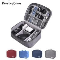 office home usb data line storage charger organizer portable mobile pc bag car business travel gear waterproof digital products