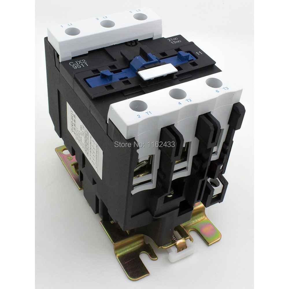 CJX2-9511 95A AC 110V 3P NO + contactor NC CJX2-95 LC1-D95 serie...