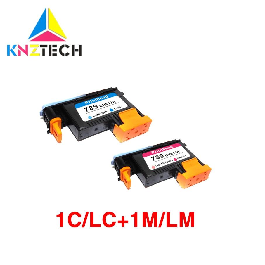 Mejor venta compatible para hp 789 Light mangent cyan reemplazo compatible para impresora hp 789 L25500