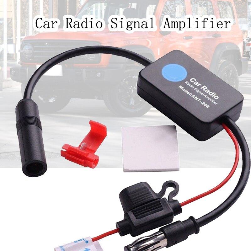 Автомобильный усилитель радиосигнала, автомобильная стереосистема, FM радиосигнальная антенна, усилитель воздушного сигнала, усилитель, вс...