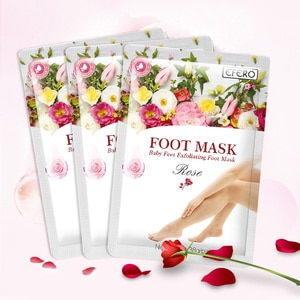 EFERO Exfoliating Feet Masks Foot Peel Mask Socks for Pedicure Spa Remove Dead Skin Heels For Woman Men Skin Care