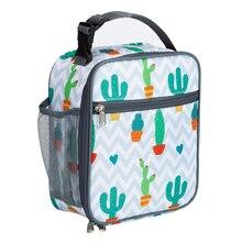 المحمولة حقيبة حفظ الطعام للأطفال النساء معزول الحرارية برودة أكياس الطباعة مقاوم للماء أكسفورد الأعمال الرجال الغذاء Lunchbox حزمة