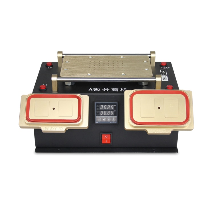 TBK 978 3in1 Vacuum LCD Separator Bezel Middle Frame Separator For iPhone Samsung Touch Screen Refurbish Repair Machine