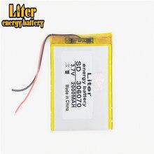 3.7V 2000mAh 306070 Lithium polymère li-po Rechargeable bricolage batterie pour PAD GPS vidéo jeu E-Book tablette PC batterie externe