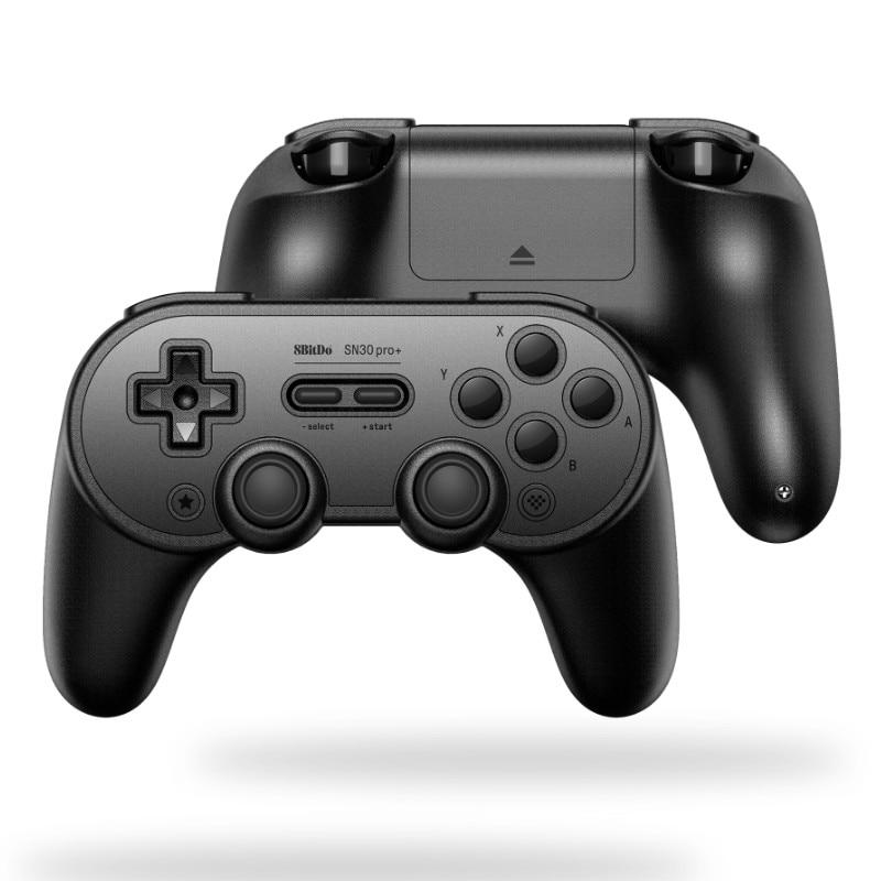 In Stock! 8Bitdo SN30 Pro+ Wireless Gamepad BT Gaming Joystick for Windows/Switch/macOS/Steam/Raspberry Pi Controller