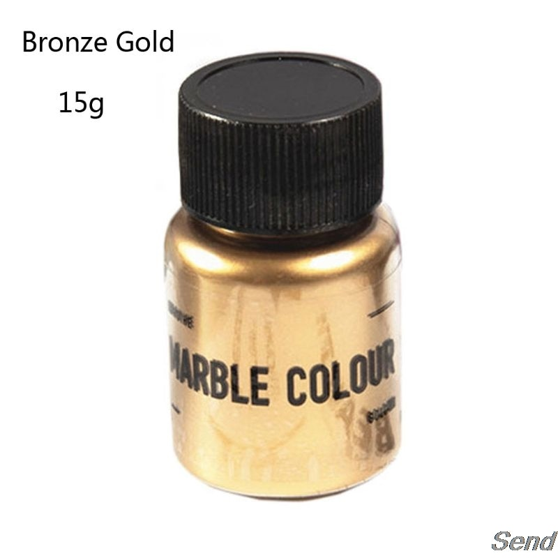 15g resina de cola epoxy colorant glitter mármore metálico pigmento resina jóias fazendo t4md
