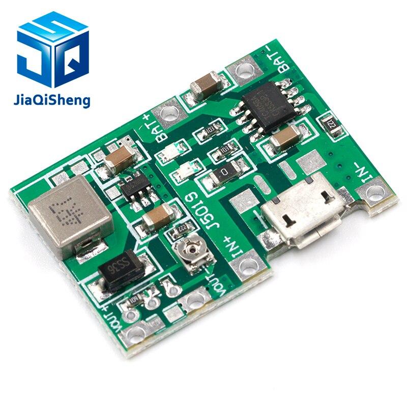Lithium Li-Ion 18650 3,7 V 4,2 V Batterie Ladegerät Bord DC-DC Step Up Boost Modul Integrierte Schaltungen