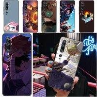 my hero academia tomura boku todoroki shouto bakugou katsuki dabi shigaraki phone case for xiaomi cc9 pro cc9e funda carcasa