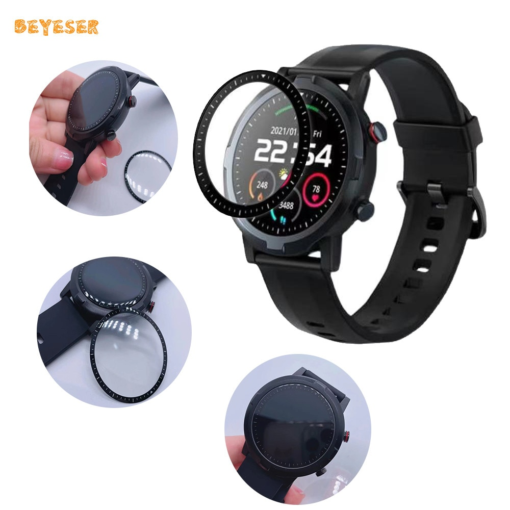 3D Curved Full Protective Film Cover Protection For Xiaomi Youpin LS05S Watch Transparent Replacement Smart Screen Protector transparent screen protector for xiaomi smart sports watch