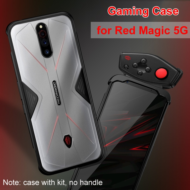 for Nubia Red Magic 5G Phone 6.65 inch Case Accessories Soft Anti-knock Silicon PC Breathable Transp