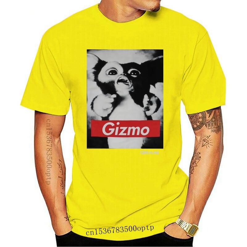 New HOT deals Gremlins Mens T-Shirt - Black and White Gizmo Photo W