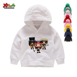 Kids Hoodies Tops Clothing Hoodies Children's Funny 2021 Hip Hop Boy Girl Hoodies Baby Girls Sweatshirts Spring Autumn Children