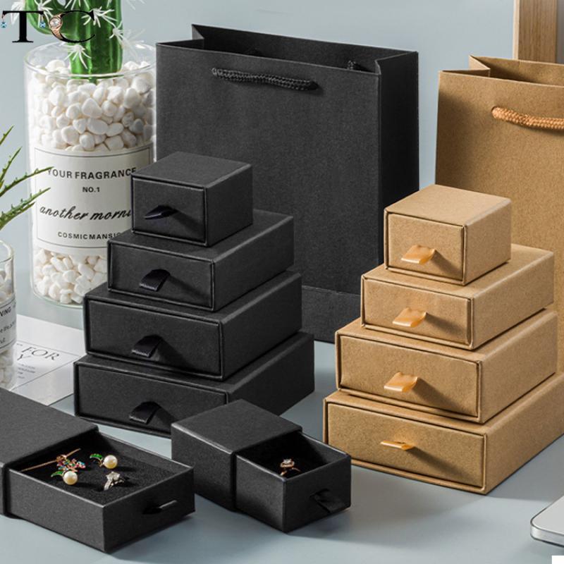 Ящик-для-украшений-из-крафт-бумаги