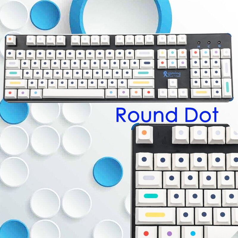 108-مفتاح أبيض نقطة كيكابس بت التسامي أوم عالية الميكانيكية لوحة المفاتيح كيكابس ل الكرز مكس مفاتيح لوحة المفاتيح 61 87 96 GK64