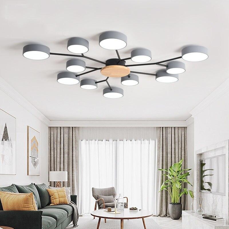 الحديثة غرفة المعيشة LED مصباح الشمال نمط نوم LED السقف فندق مصباح فيلا غرفة مصباح مطعم مصباح الإضاءة مصابيح بالجملة