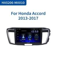 dasaita 1 din 10 2 car radio android 10 0 stereo player for honda accord 2013 2014 2015 gps navigation video 64g rom wifi bt5 0