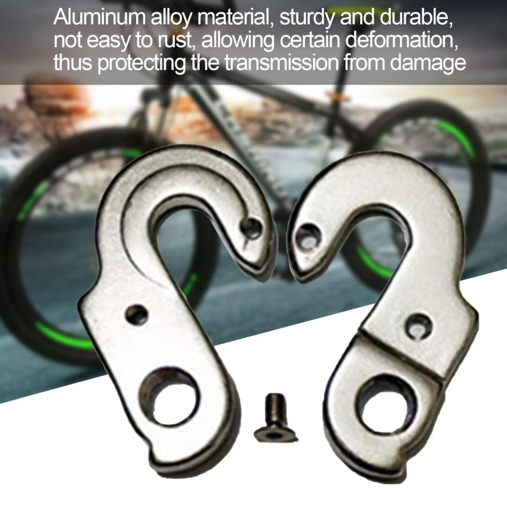 35% Discounts Hot! Derailleur Hanger Aluminum Alloy Rear Tail Hook for Bicycle