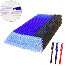 20 Pcs/lot magique effaçable stylo recharges tige 0.5mm bureau Gel stylo lavable poignée bleu noir rouge encre stylo école écriture papeterie