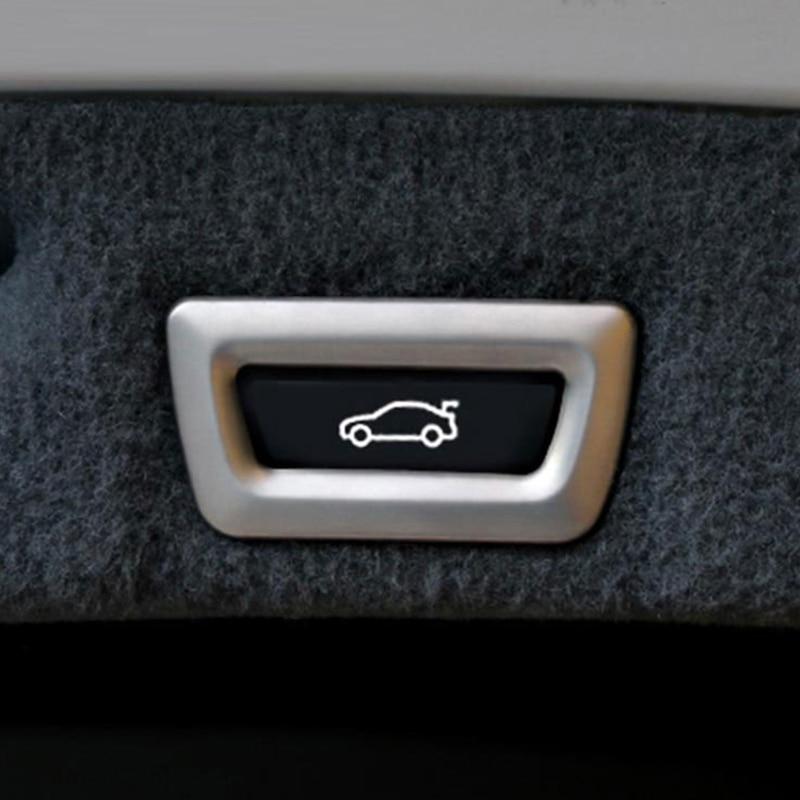 Para BMW X1 f48 X3 f25 X4 f26 X5 f15 X6 GT 3 5 7 Serie coche-estilo de accesorios ABS cromo cola puerta embellecedor de cubierta de botón etiqueta engomada