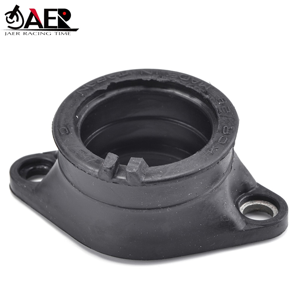 JAER Motor carburador interfaz adaptador colector abrazadera de tubo para Suzuki DR200 DR200SE DR200S TS250 salvaje Savage