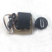 Auto Verlichting Switch + Chrome Auto Sensor Licht Voor Passat B5 Voor Lavida Voor Bora Voor Golf 4 Nieuwe 5ND941431B
